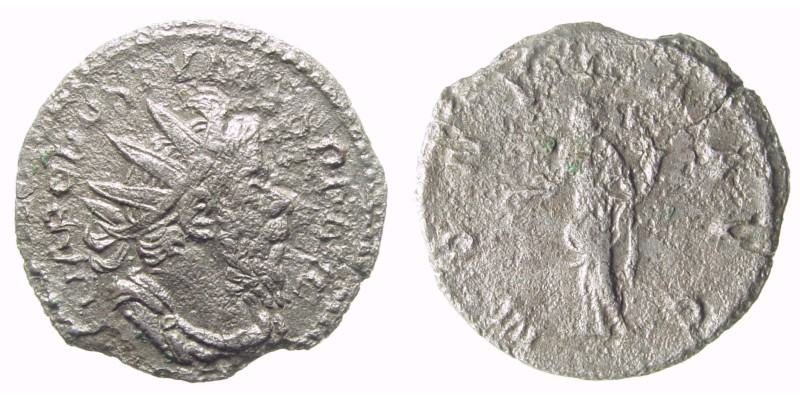SOLD - POSTUMUS/MONETA,  260 AD -  268 AD, Billon Antoninianus