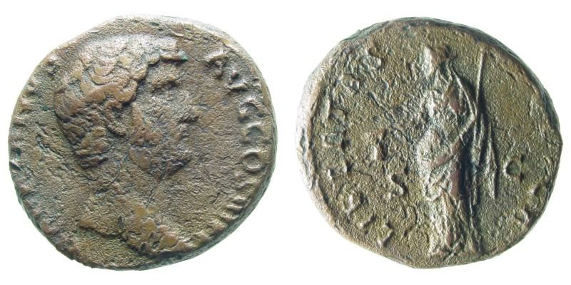 HADRIAN,  134 AD -  138 AD, Copper As