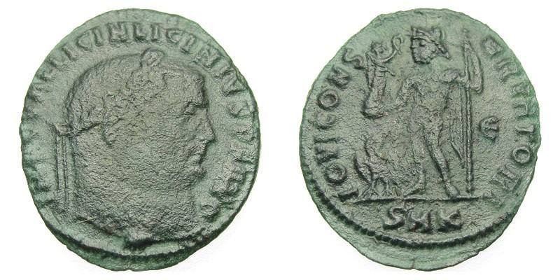 SOLD - LICINIUS I, 312 AD - 324 AD, Bronze Follis