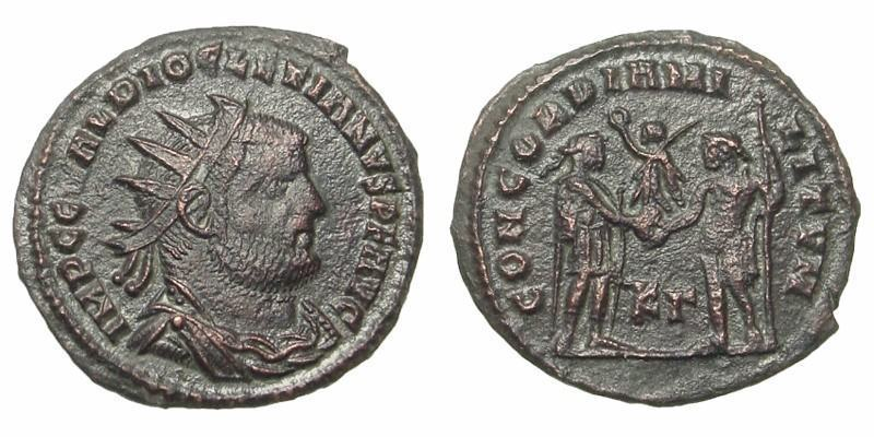 DIOCLETIAN, 295 AD - 299 AD, Copper Post-Reform Radiate