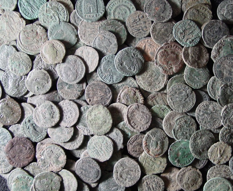 SOLD OUT - Premium AE4 Uncleaned Ancient Roman Bronze Coins